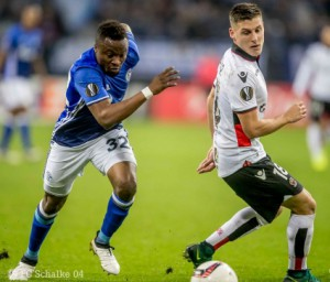 Ghanaian striker Bernard Tekpetey suspended for Schalke clash against Red Bull Salzburg in Europa Cup