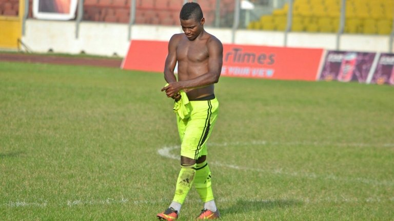 Bechem United striker Amed Toure shies away from best striker accolade