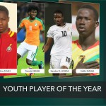 Ghana duo Eric Ayiah and Sandra Owusu Ansah vie for CAF Youth Player of the Year