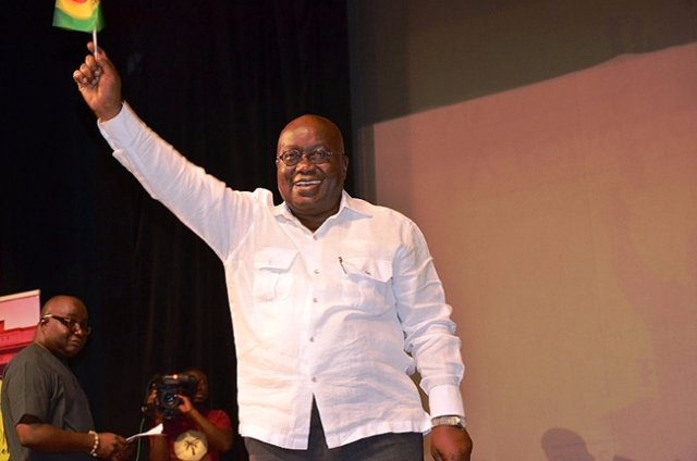 Breaking News: Nana Akuffo-Addo is Ghana's new President after Mahama concedes defeat.