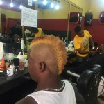 Bechem United striker Amed Toure unveils new hairstyle for upcoming season