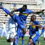 Ghanaian defender Joseph Adjei sent off in Cape Town City's massive loss in South Africa