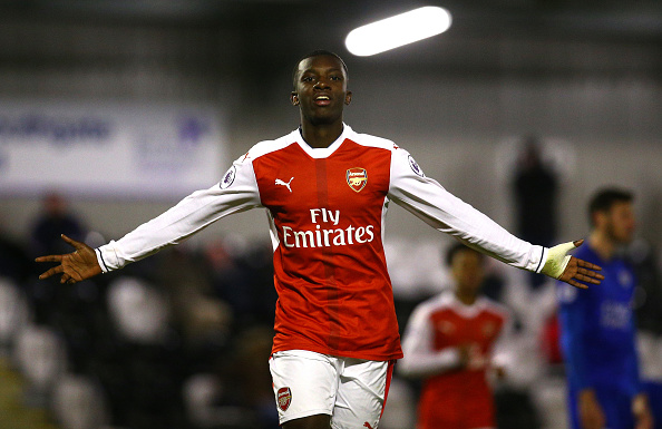 Ghanaian teen sensation Edward Nketiah strikes 14th goal of the season in Arsenal U23's stalemate with FC Basel in UEFA Youth League