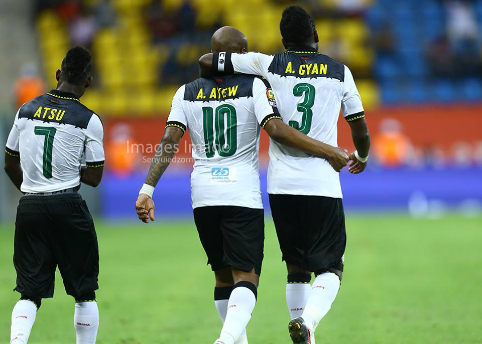 PHOTOS: Black Stars get AFCON 2017 campaign off to good start against Uganda