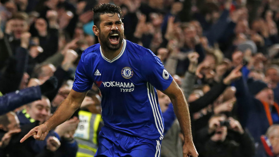 Chelsea Striker Diego Costa Returns to Training After Feud With Manager Antonio Conte