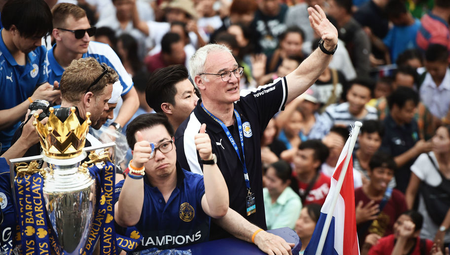 Leicester City Boss Claudio Ranieri Inducted Into Italian Football Federation Hall of Fame