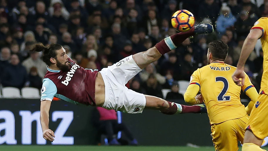West Ham Boss Slaven Bilic Admits Andy Carroll Suffered Whiplash After Wonder Goal Against Palace