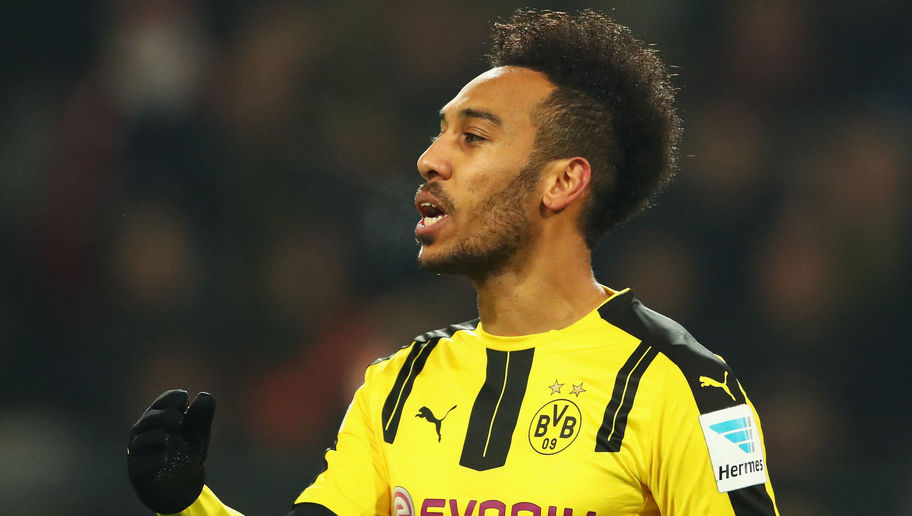 Dortmund's Pierre-Emerick Aubameyang Gives Blunt Response When Asked About Possible Liverpool Move