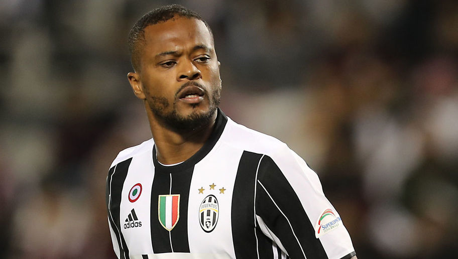 Lyon Ready to Rival Crystal Palace for Signature of Juventus Left Back Patrice Evra
