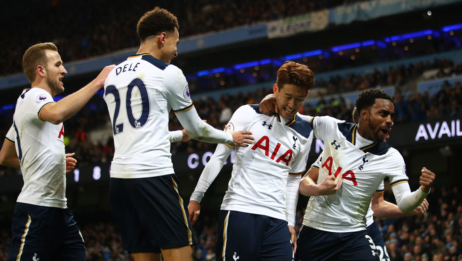 Manchester City 2-2 Tottenham: Son Spares Lloris' Blushes as Spurs Fightback to Draw With City
