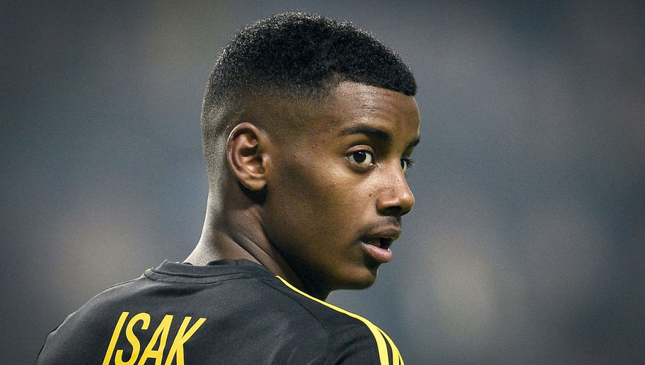 Borussia Dortmund Set to Edge Real Madrid to Signature of Swedish Teenager Alexander Isak