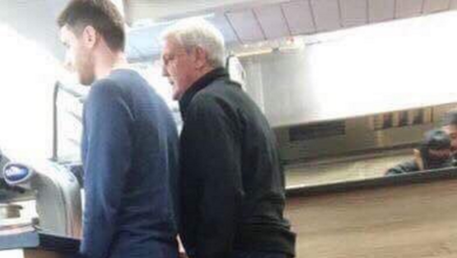 PHOTO: Steve Bruce Proves He's a Man of the People After Buying Kebab in Full Training Gear