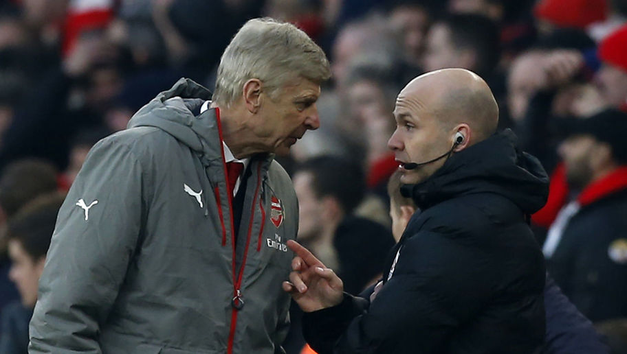 Arsene Wenger Charged by FA Following Touchline Bust-Up With Official in Win Over Burnley