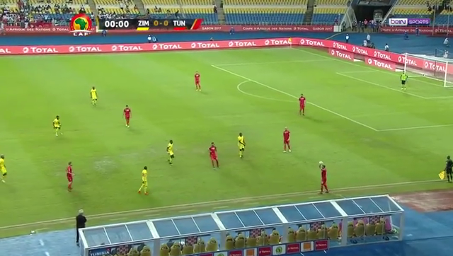 VIDEO Zimbabwe 2 – 4 Tunisia (AFCON) Highlights
