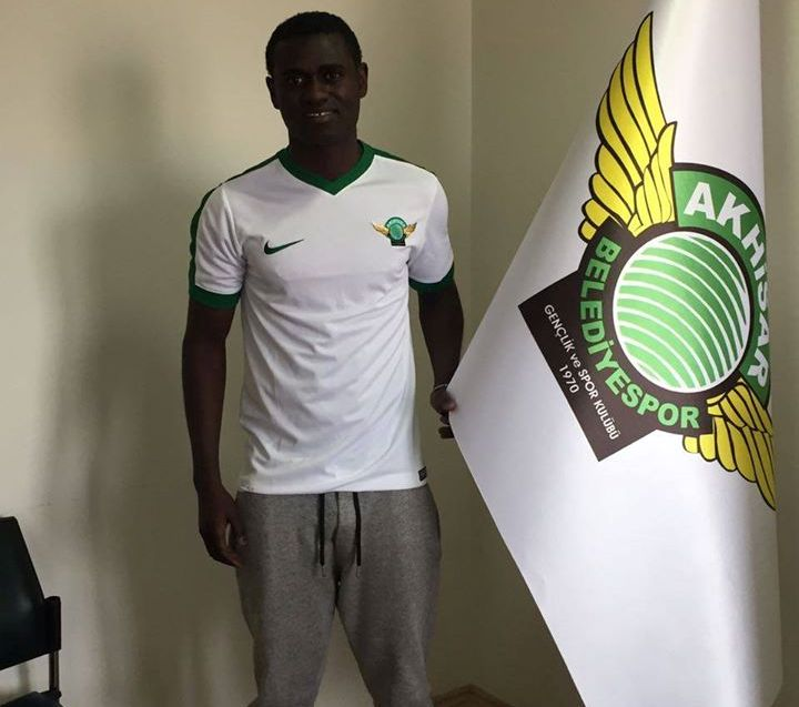 Midfielder Enoch Adu Kofi debuts for Turkish top-flight side Akhisar Belediyespor