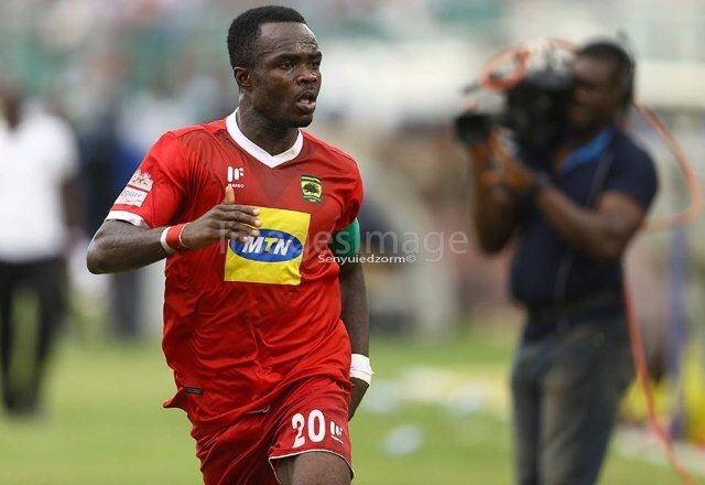 Kotoko skipper Amos Frimpong satisfied with 0-0 stalemate with Aduana Stars