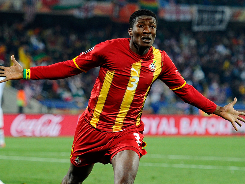 Fit-again Asamoah Gyan didn't expect to score early in pre-AFCON friendly