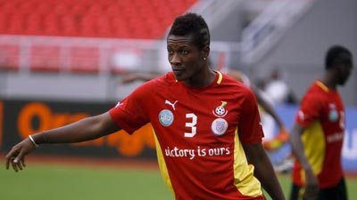 Ghana striker believes Uganda among Africa's best ahead of AFCON clash