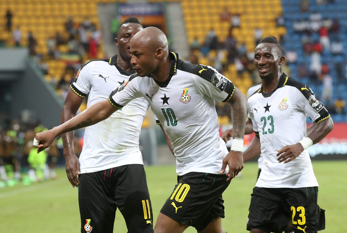 Andre Ayew defies claims of malaria to help Ghana at 2017 AFCON