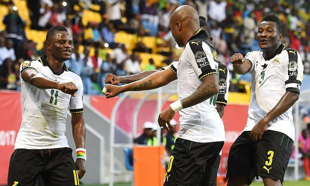 "AFCON 2017:  ""I played through pain against Mali"" – Andre Ayew"