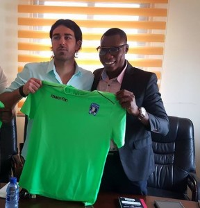 Bechem United unveil new Italian coach Vincenzo Alberto