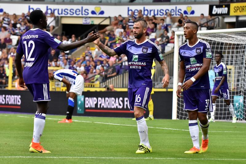 Ghanaian defender Dennis Appiah finally makes injury return for Belgian giants Anderlecht