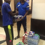 Sudan-based trio Augustine Okrah, Abednego and Ezekiel Tetteh donate to Wa All Stars