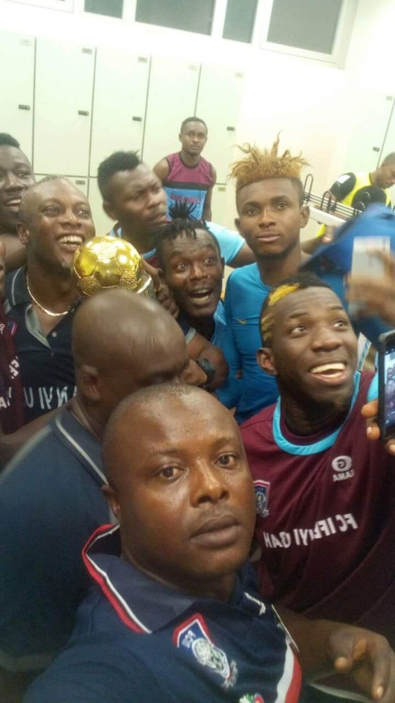 Despised former Hearts trainer Yaw Preko wins major trophy in Nigeria with ten men