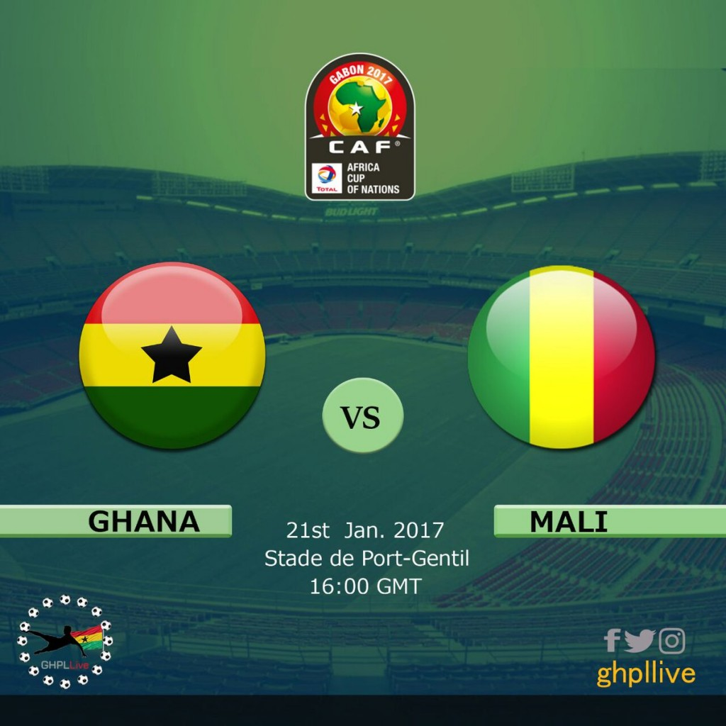 AFCON 2017: Ghana 1-0 Mali LIVE play-by-play