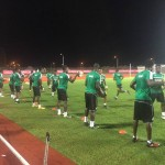 VIDEO: Watch Black Stars first training session in Port Gentil