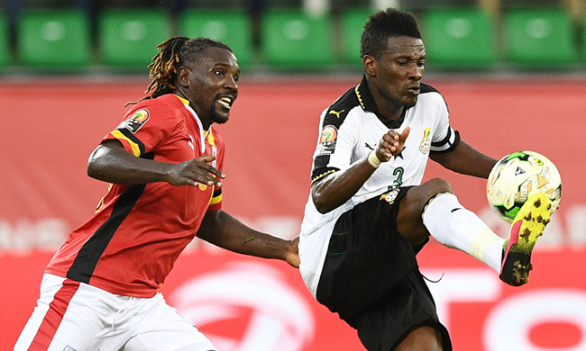 Ghana skipper Asamoah Gyan explains reasons for his substitution in Uganda game