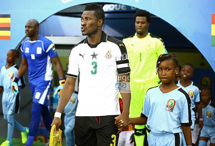 Ghana skipper Asamoah Gyan insists he's not after personal glory at AFCON