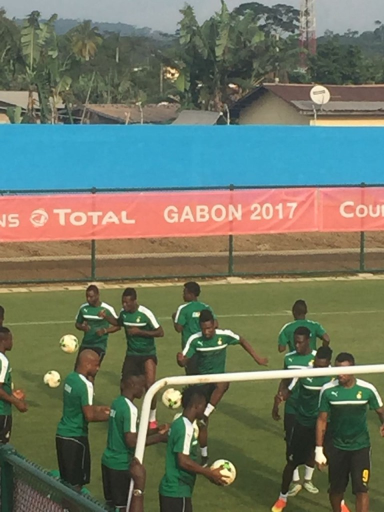 AFCON 2017: Massive boost for Ghana as captain Asamoah Gyan returns to training ahead of DR Congo clash