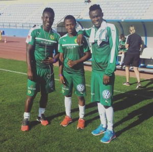 Former Inter Allies trio reunite at Swedish side Hammarby IF