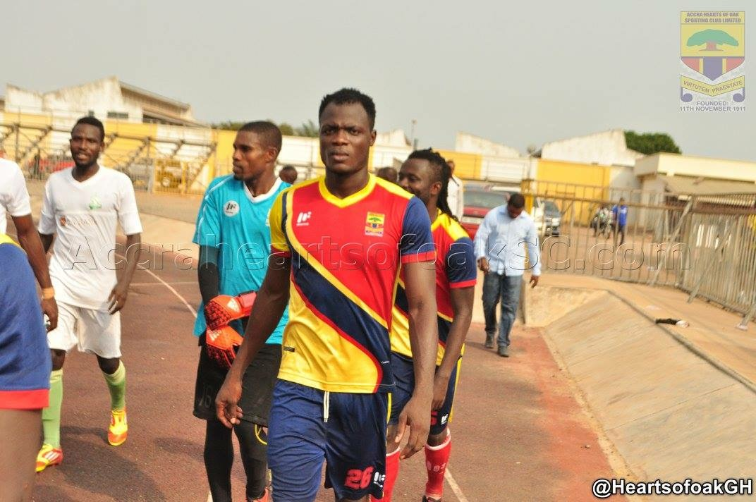 I will not attend training without a contract - Hearts skipper Inusah Musah