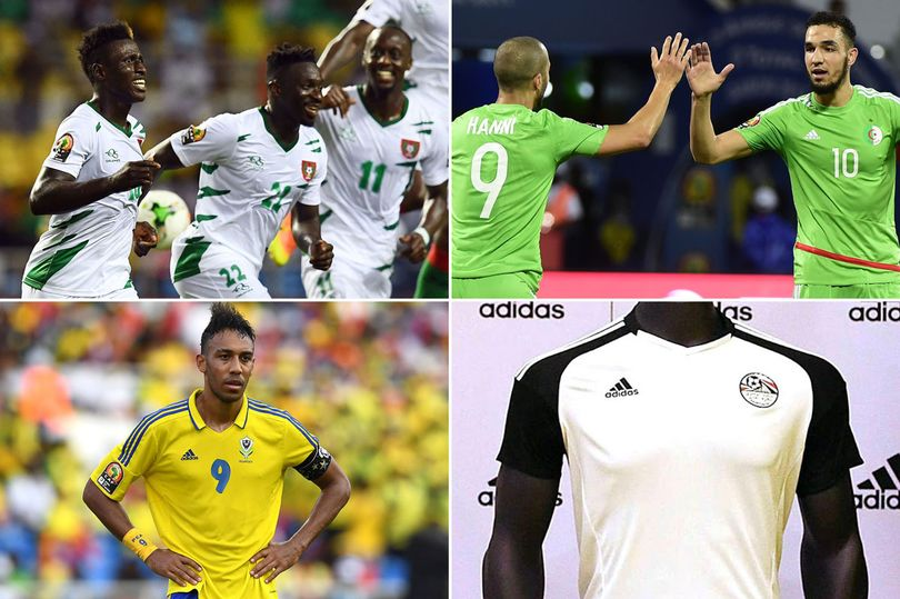104b82d5d0b Ghana s jersey ranked third best at the 2017 Africa Cup of Nations ...