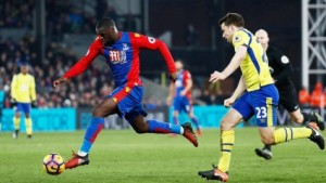 Crystal Palace new boy Jeff Schlupp content with performance despite Everton defeat