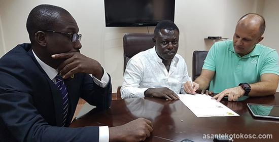 Ghanaian giants Asante Kotoko complete signing of Croatian coach Lugarusic