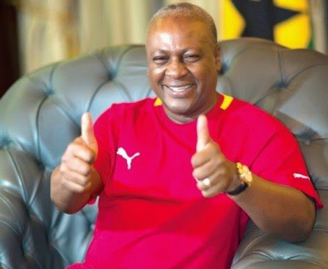 Ex-President John Mahama calls for support for the Black Stars ahead of Uganda clash