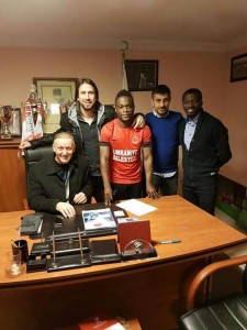 Breaking News: Ghana striker Mahatma Otoo signs for Turkish side Umraniyespor