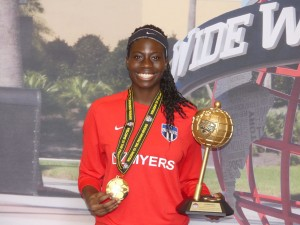 Ghana's U17 female goalkeeper Kayza Massey honoured in Canada