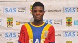 Ex-Hearts winger Ollenu Ashitey completes two-year deal to join rivals Kotoko