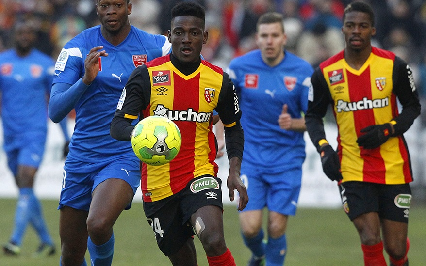 Daniel Opare suffers injury on Lens debut in French Ligue 2 defeat to Nimes