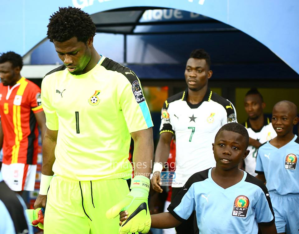 Ghana goalkeeper Razak Brimah eyes Alioum Boukar's clean sheet AFCON record