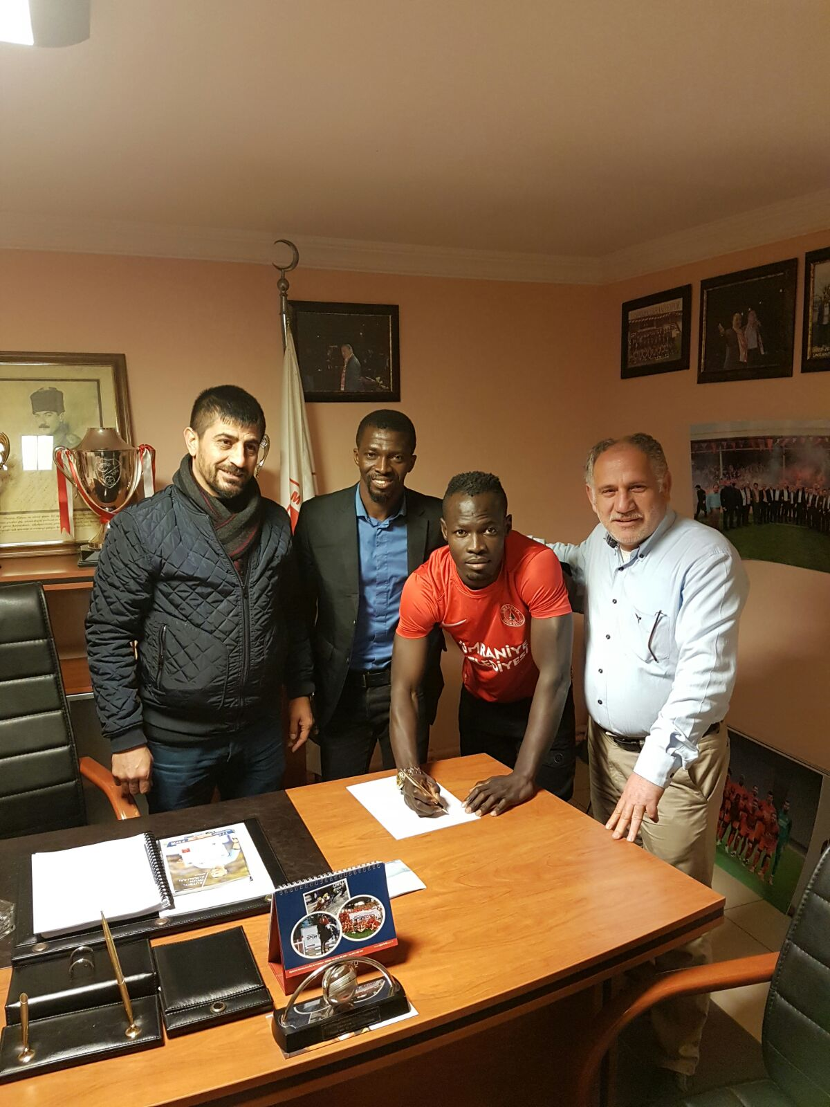 OFFICIAL: Ghana youth star Seidu Salifu joins Turkish second-tier side Umraniyespor on short loan deal