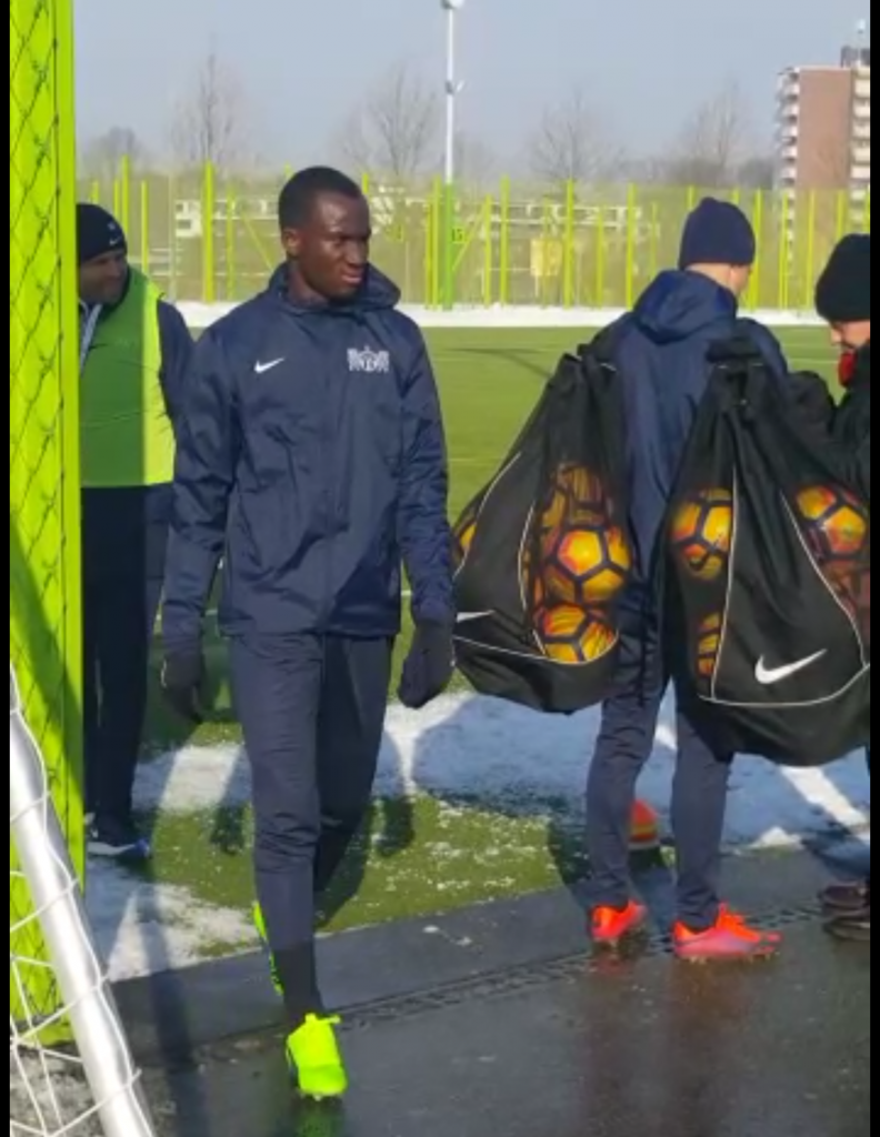 VIDEO: Watch Ghana forward Raphael Dwamena trains with Swiss side FC Zurich for the first time
