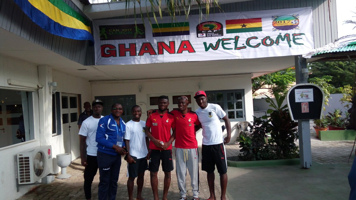 AFCON 2017: Sports Minister designate Isaac Asiamah lands in Black Stars camp; holds meeting with players