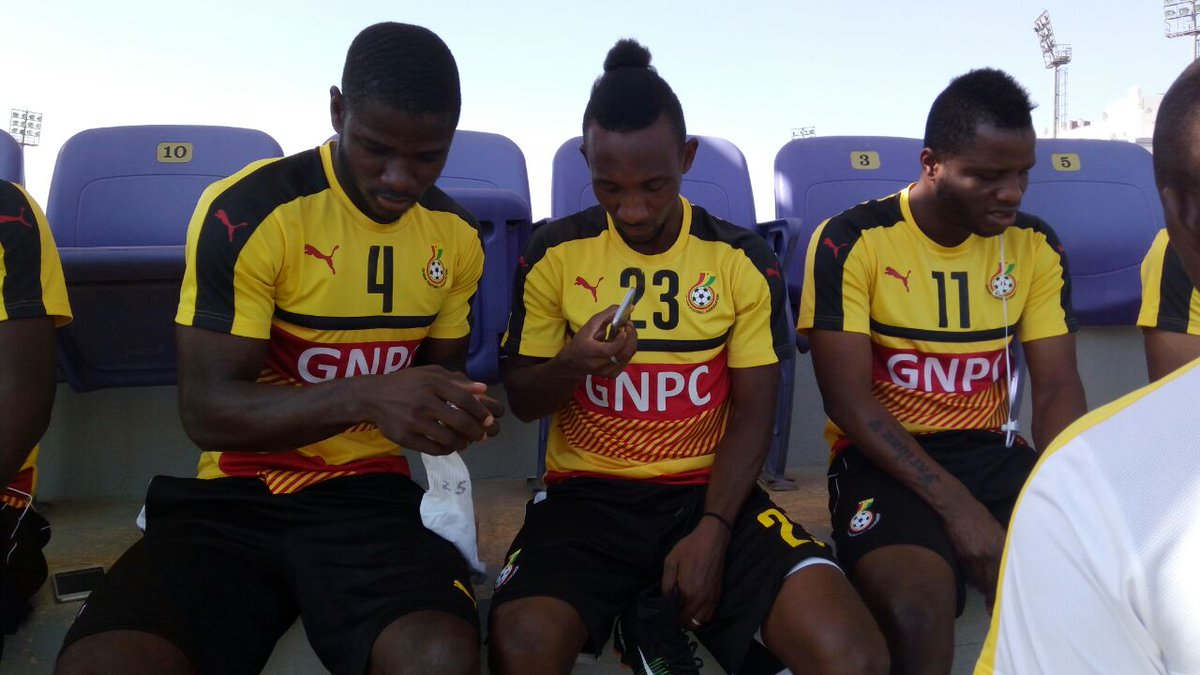Black Stars players