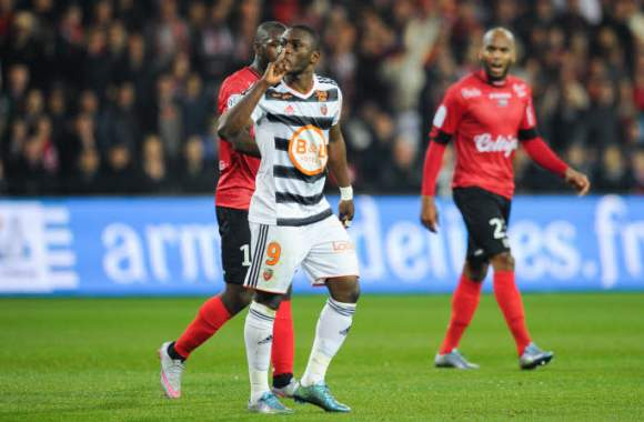 French giants Monaco humiliate Majeed Waris and Alhassan Wakaso's Lorient 4-0 in Ligue 1