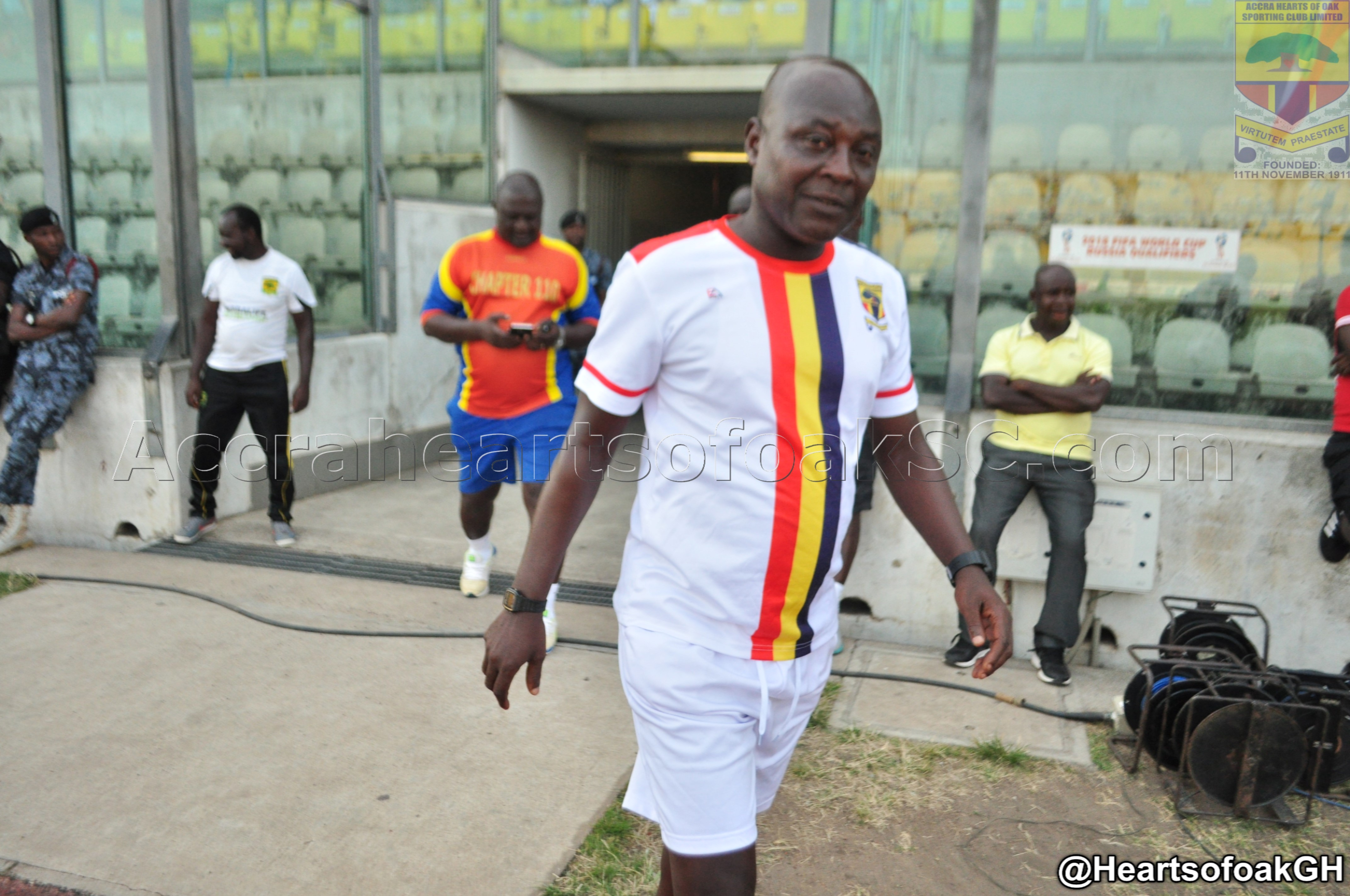 Head coach Henry Wellington returns to Hearts of Oak bench for WAFA clash after recovering from illness